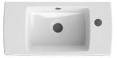 Bruynzeel Doro Keramische fontein 50x11x25cm 50x25 cm kraangat rechts wit 224951