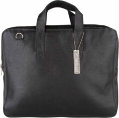 MYOMY My Paper Bag Crossbodytas - 15 Inch Laptoptas - Zwart