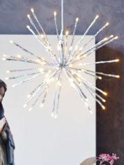 Silberstern, Beleuchtung IMPRESSIONEN living silber