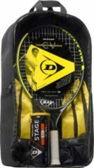 Dunlop CV Team Junior 23 tennisracket set voor kinderen - geel