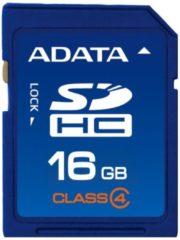 ADATA Speicherkarte Secure Digital SDHC Card 16 GB ADATA Blau