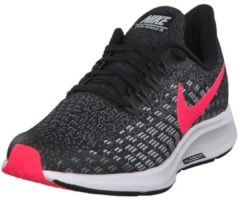 Rosa Laufschuhe Air Zoom Pegasus 35 mit Zoom-Air-Element Nike Black/Racer Pink-White-Anthracite