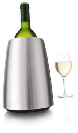 Afbeelding van Zilveren VacuVin Vacu Vin Active Cooler Wine - roestvrijstaal