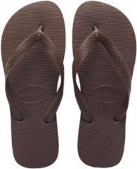 Havaianas Top Slipper Slippers - Maat 35/36 - Unisex - Bruin