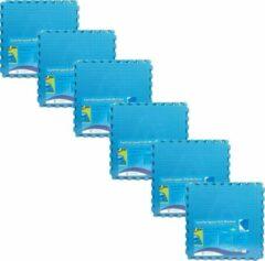 Blauwe Comfortpool - Voordeelpakket - Zwembad tegels - 30 tegels - 60 x 60 cm - 10,8m²