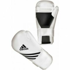 Adidas Semi Contact Handschoenen Wit XL