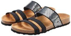 Zwarte LASCANA slippers