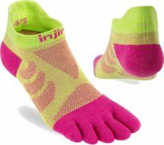 Injinji Injnji Ultra Run No Show Coolmax Dames 401111 - Meerkleurig melon Dames - XS-S=35-40