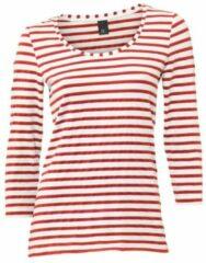 Rode Gestreept shirt