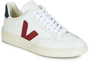 Afbeelding van Witte Lage Sneakers Veja V-12 LEATHER