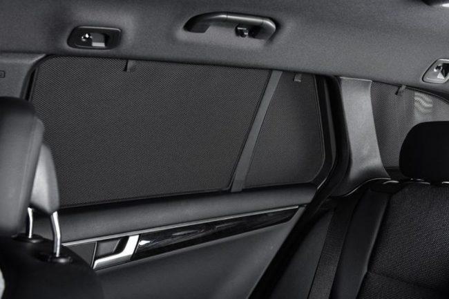 Afbeelding van Zwarte Car Shades Carshades Jaguar XF Sedan 2008-2015 autozonwering