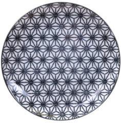 Witte Tokyo Design Studio Nippon Black Plate 20.6cm Star/Black Rim