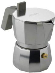 Zilveren Alessi Espresso koffiemaker 1 kops