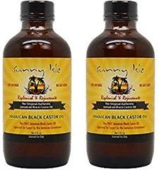 2 X SUNNY ISLE - JAMAICAN BLACK CASTOR OIL 4OZ / 118ML