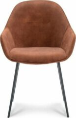 Happy Chairs - Armstoel Antonio - Velvet Copper
