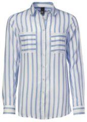Blauwe Gestreepte blouse