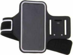 Zwart Sportarmband voor Samsung Galaxy S10e - van Bixb