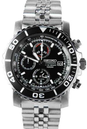 Afbeelding van Seiko Alarm SNA225P1 Heren Horloge