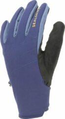 Blauwe Sealskinz Waterproof All Weather Glove with Fusion Control� Fietshandschoenen Unisex - Maat L