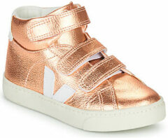 Gouden Sneakers Small Esplar Mid Leather by Veja