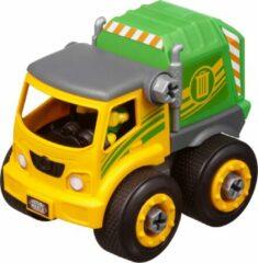 Groene Nikko Toys Nikko - Machine Maker Auto City Service: vuilniswagen 9-delig