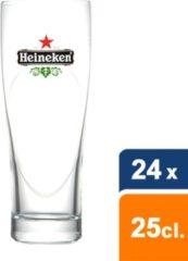 Heineken Ellipse glas 250ML 24 stuks