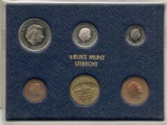 's Rijks Munt Nederland Jaarset Munten 1976 FDC