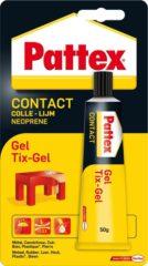 Bruna Alleslijm Pattex Tixgel Tube 50gram op blister