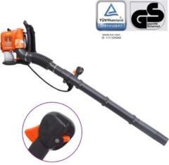 Oranje VidaXL Bladblazer rugzak benzine 900 m/h 42,7 cc