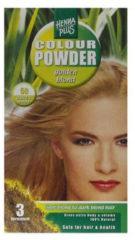 Hennaplus Hennapl kleurpoeder 50 g.blond 100 gr - Haarverf