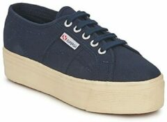 Blauwe Lage Sneakers Superga 2790 LINEA UP AND