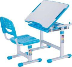 Blauwe Vipack Bureau Comfortline - kantelbaar - blauw