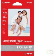 Canon Glossy Photo Paper GP-501 0775B003 Fotopapier 10 x 15 cm 210 g/m² 100 vellen Glanzend