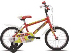 14 Zoll Jungen Fahrrad Legnano Snake Legnano rot-gelb
