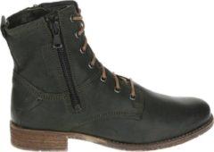 Josef Seibel SIENNA 78 - Volwassenen VeterlaarzenHalf-hoge schoenen - Kleur: Groen - Maat: 42