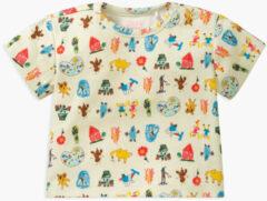 Lichtblauwe Oilily Ti t-shirt- licht blauw