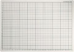 Witte Creotime Snijmat, afm 30x45 cm, 1 stuk