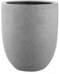 Licht-grijze Luca Lifestyle Struttura Tall Egg XL 88x103 cm bloempot grijs