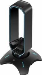 Zwarte Sandberg 3in1 USB 3.0 Hub Bungee Stand