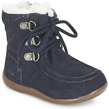 Afbeelding van Blauwe Boots en enkellaarsjes Bamara by Kickers