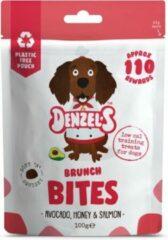 Denzel's Bites - 100% Natuurlijk - Avocado, Honing en Zalm