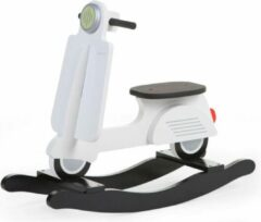 Witte Childhome Hobbelscooter Wit