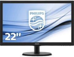 LED-Monitor 223V5LSB/00 Philips Schwarz