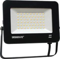 Groenovatie LED Breedstraler - 50W - Waterdicht IP65 - 285x235x140 mm - Compact - Neutraal Wit