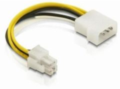 Witte Goobay M-Cab 7008010 Intern 0.16m CPU P4 (4-pin) Multi kleuren electriciteitssnoer
