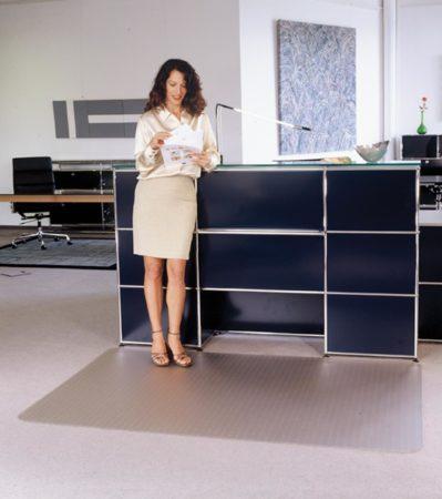 Afbeelding van Floortex vloermat Cleartex Advantagemat voor tapijt rechthoekig formaat 120 x 150 cm
