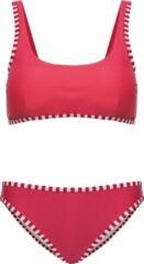 La V Bikini classic style - Rode strepen 128-134