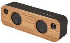 Bruine House of Marley Get Together Mini Draadloze Bluetooth Speaker - 10 uur - AUX