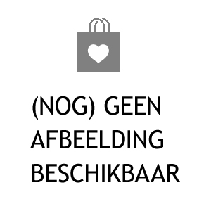 Blauwe Dedicated creations Patchwork kussen sloop 'log cabin'