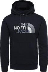 Zwarte The North Face Drew Peak Pullover Hoodie Trui Heren - Tnf Black/Tnf Black - Maat L